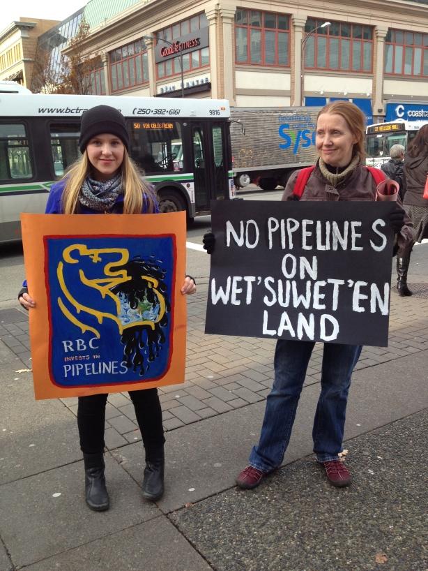 Support growing for Unist'ot'en battle against B.C. pipeline